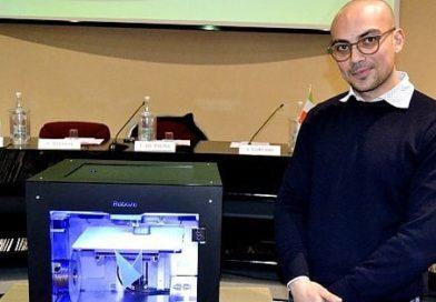 Con la sua stampante 3D un 27enne barese conquista Forbes: è nei '30 under 30 d'Europa'